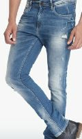 Mens Blue Slim Fit Jeans