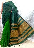 Ghecha Pallu Handloom Pure Khadi Silk Saree