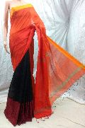 Handloom Silk Cotton MAHAPAR Saree