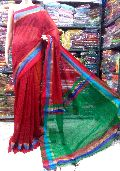 Handloom silk cotton saree