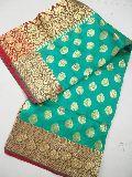 Semi Katan Silk Sarees