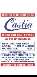 Medical Grade Plaster of Paris