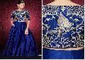 Leh02 Blue Queens Lehenga Choli