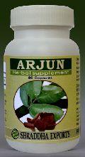 ARJUN CAPSULES (Terminalia arjuna bark powder capsules)