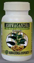 ASHWAGANDHA CAPSULES (Withania somnifera roots powder capsules)