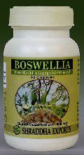 BOSWELLIA CAPSULES (Boswellia serrata gum extract capsules)