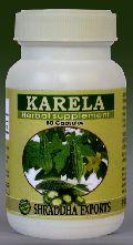 KARELA CAPSULES (Momordica charantia fruits powder capsules)
