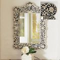 Bone & Mop Mirror Frame