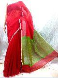 Handloom Silk Khadi Ghicha Pallu Saree