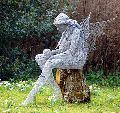 Decorative Iron Doll Sculpture