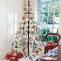 Iron Christmas Tree Sculpture