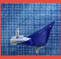 Blue Crystal Glass Bathroom Mosaic Tile