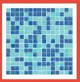 Random Mix Glass Mosaic Tile