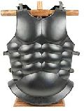Medieval Knight Steel Body Armor Roman Muscle Chest Plates