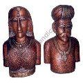 wooden Man and women figure