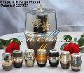 European Style Brass Cremation Urn