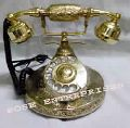 Nautical Vintage Brass Telephone