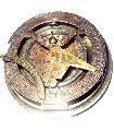 Nautical Gilbert Son London Brass Sundial Compass