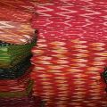 Dyed Ikkat Fabric
