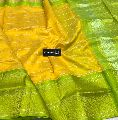 latest kuppadam silk sarees with silver and gold zari borders