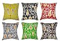 Indian Kantha Multi color Cotton Cushion Cover