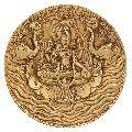 Hinduism Decor Goddess Lakshmi Brass Statue