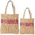 Multipurpose Shopping Bags, Jute Shimmer