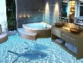 3D Amazing Bathroom Floor Tile