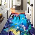 3D Bathroom Floor Tile
