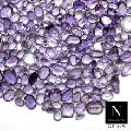 100% natural genuine amethyst faceted mixed shapes loose gemstone