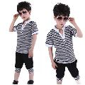 Kids Cotton Capri Suit
