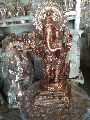 Copper Ganesh Statue