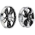 Black Royal Erado Design Alloy Wheels