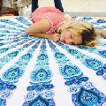 tapestry Roundie Yoga Mat