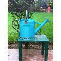 Watering Can in Blue with stainless steel spout and handle