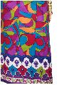 Pure Cotton, Printed colour fast fabric, multicolour modern art print