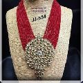 Beads Kundan Necklace Set