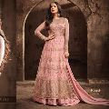 Embroidery stone Work Anarkali suit
