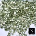 Green amethyst Faceted Loose Gemstone