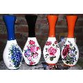 12 Inch Decorative Wooden Flower Pot