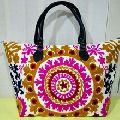Handmade Embroidered Suzani Vintage Bag