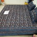 cotton hand block printed fabric/bed cover/bed sheet