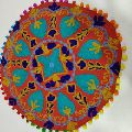 Indian Decorative Round Pillow Cover