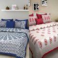 Cotton Jaipuri Bed Sheets