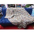 silk sari sofa bed cover blanket sari quilted blanke