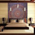 Jaipuri Rajasthani Cotton Hippie Elephant Mandala Tapestry