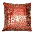 silk jacquard cushion cover