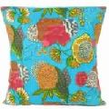 Decorative Handmade Kantha work Tropicana Floor Pillows