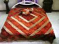 Velvet Silk Jacquard Trendy Bedspreads