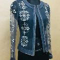 Embroidered Net Jacket
